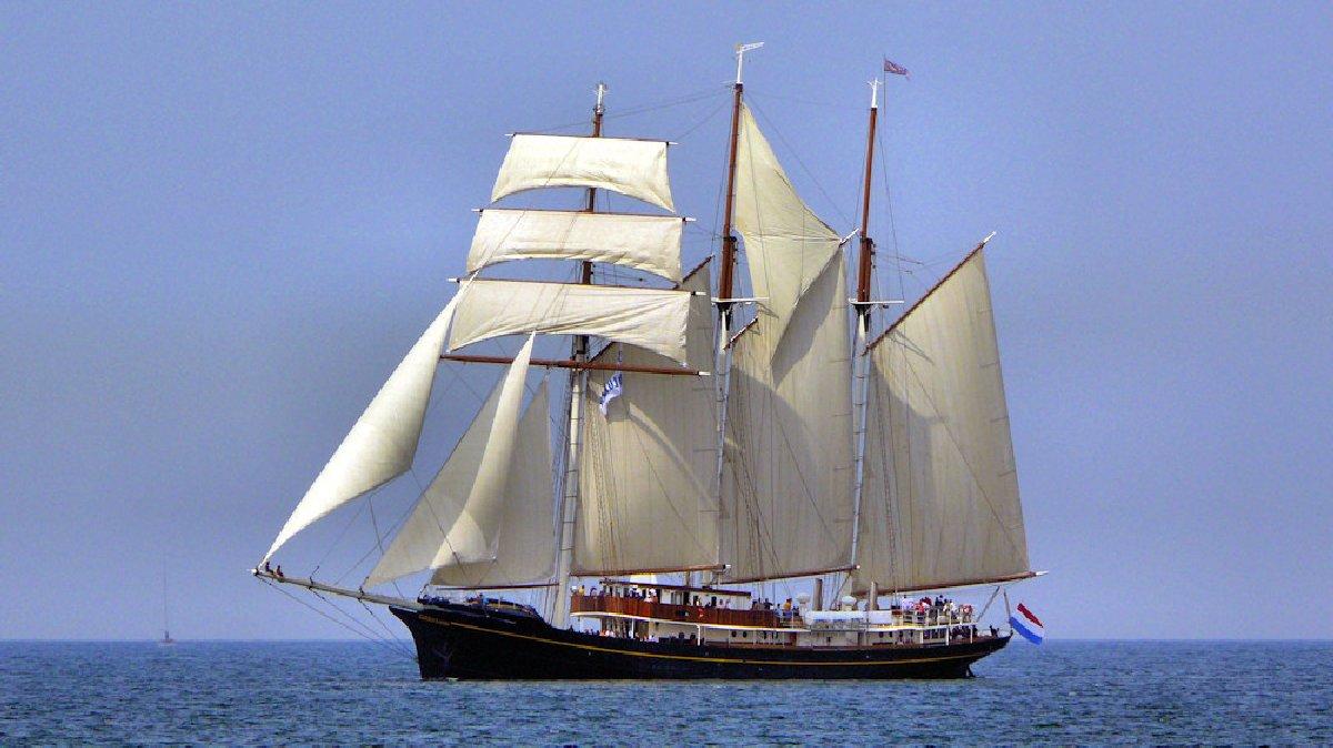 Hollandi purjeõppelaev Gulden Leeuw